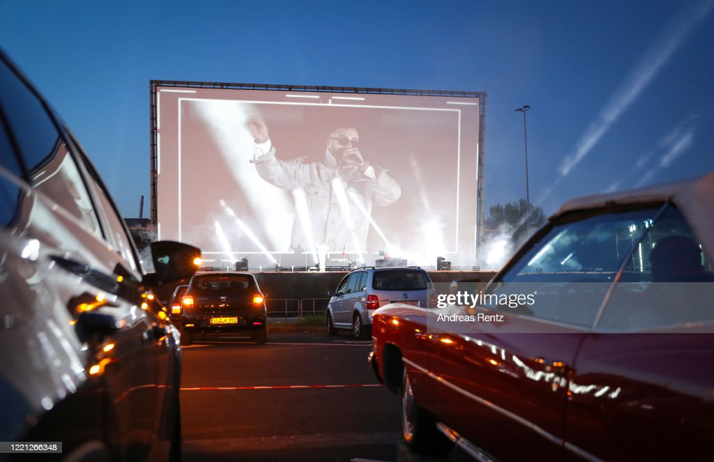 SIDO - Live! At Drive-In Cinema During The Coronavirus Crisis : News Photo