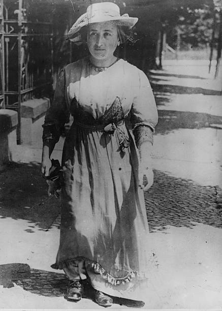 German revolutionary Rosa Luxemburg who exercised considerable...