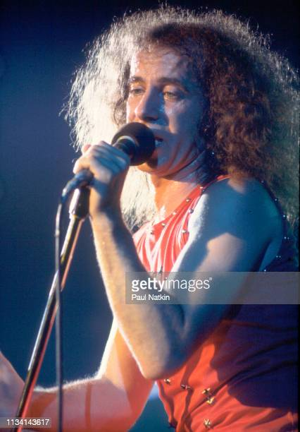 German Rock vocalist Klaus Meine of the group Scorpions performs onstage at the Aragon Ballroom Chicago Illinois November 16 1979