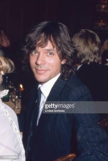 German schlager singer Juergen Drews, Germany, 1980s.