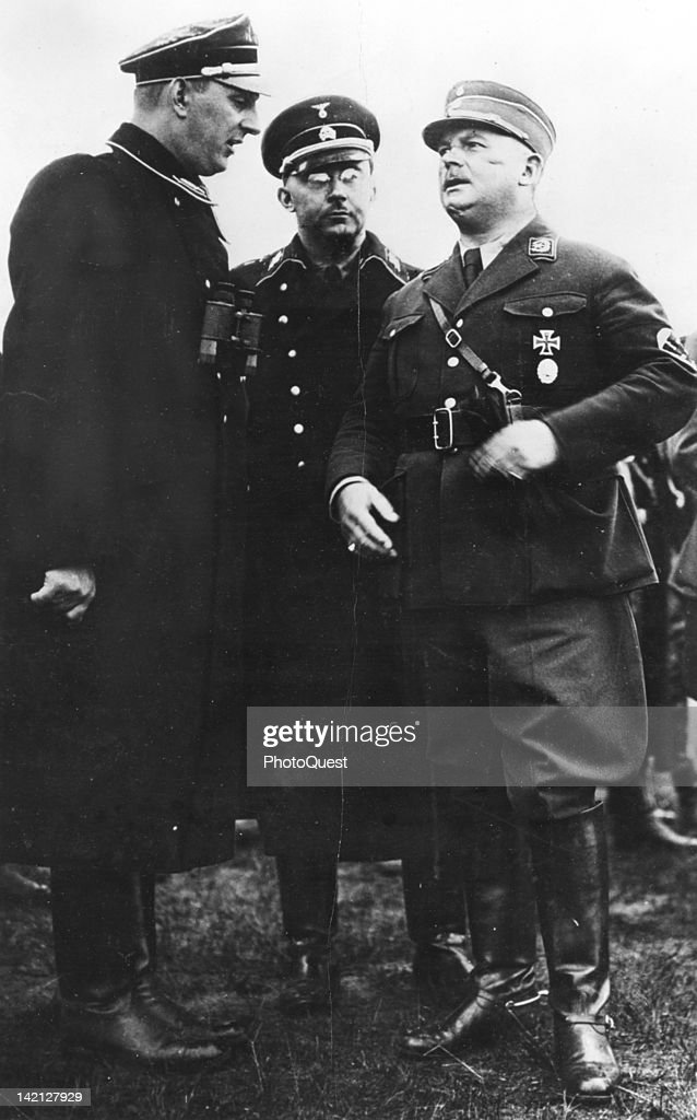 Nazi Commanders : News Photo