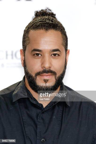 German singer Adel Tawil arrives for the Echo Award at Messe Berlin on April 12 2018 in Berlin Germany