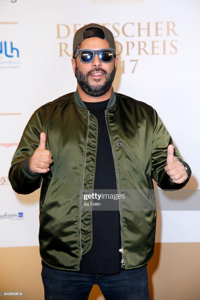 German singer Adel Tawil attends the 'Deutscher Radiopreis' (German Radio Award) at Elbphilharmonie on September 7, 2017 in Hamburg, Germany.