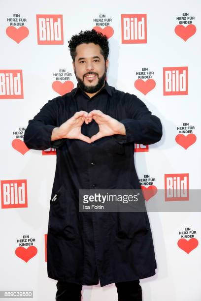German singer Adel Tawil attends the 'Ein Herz fuer Kinder Gala' at Studio Berlin Adlershof on December 9 2017 in Berlin Germany