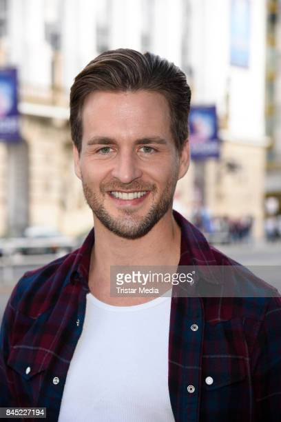 German singer Alexander Klaws attends Ghost The Musical Photo Call at Stage Theater on September 10 2017 in Berlin Germany