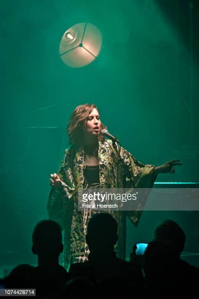 German singer Alice Merton performs live on stage during a concert at the Lido on December 19 2018 in Berlin Germany