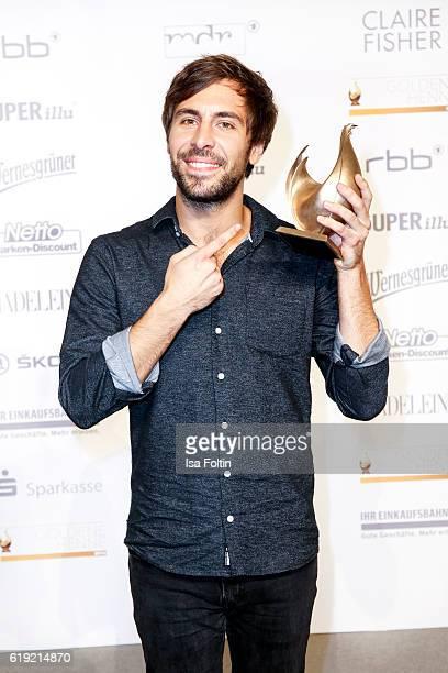 German singer and Goldene Henne award winner Max Giesinger attends the Goldene Henne on October 28 2016 in Leipzig Germany