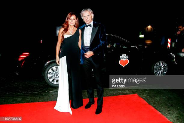 """German singer Andrea Berg and her husband Ulrich Ferber during the Daimlers """"BE A MOVER"""" event at Ein Herz Fuer Kinder Gala at Studio Berlin..."""