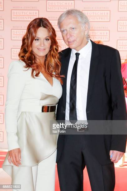German singer Andrea Berg and her husband Ulrich Ferber during the German Media Award 2016 at Kongresshaus on May 25 2017 in BadenBaden Germany The...