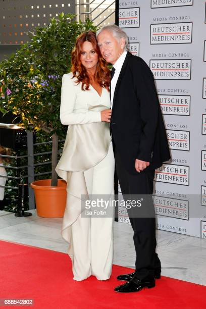 German singer Andrea Berg and her husband Ulrich Ferber during the German Media Award 2016 at Kongresshaus on May 25, 2017 in Baden-Baden, Germany....