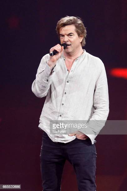 German singer Andreas Frege alias Campino during the Echo award show on April 6 2017 in Berlin Germany