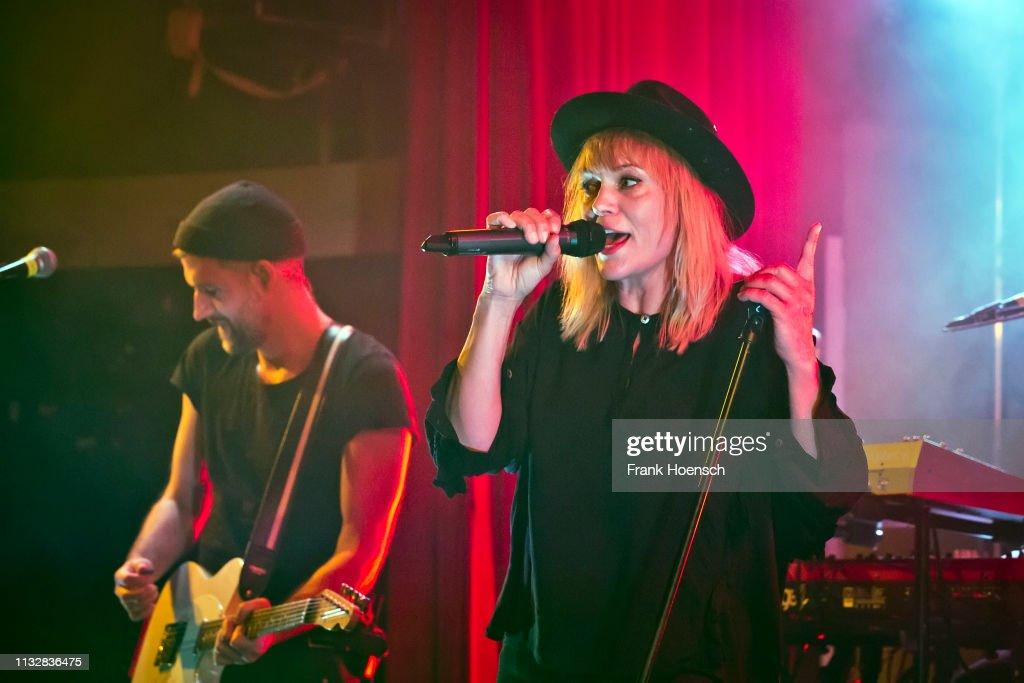 DEU: Anna Loos Performs In Berlin