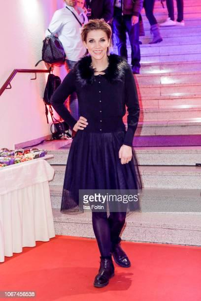German singer AnnaMaria Zimmermann during the annual tv show 'Das Adventsfest der 100000 Lichter' on December 1 2018 in Suhl Germany