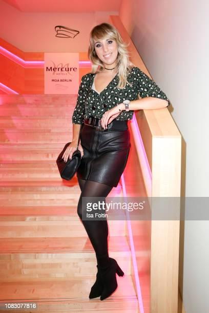 German singer Annemarie Eilfeld during the Smago Award 2018 on January 13 2019 in Berlin Germany
