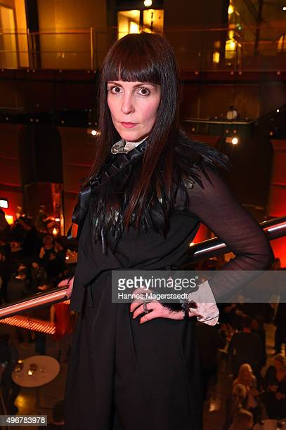 German Singer attends the 'Marcel Ostertag Charity Fashion Show 2015' at Sofitel Munich Bayerpost on November 11 2015 in Munich Germany