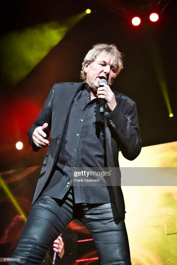 German singer Bernhard Brink performs live during the show