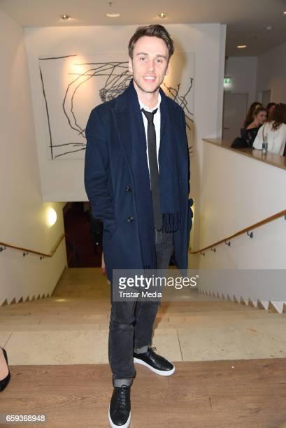 German singer Clueso attends the BIDI BADU by Kilian Kerner Presentation at Ellington Hotel on March 28 2017 in Berlin Germany