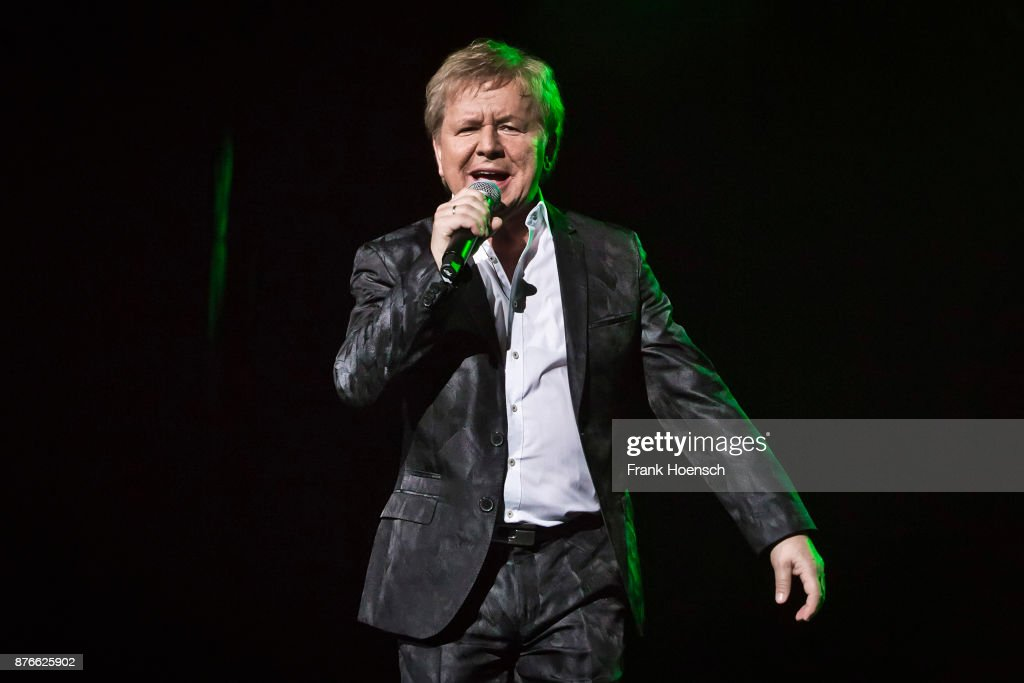German singer G.G. Anderson performs live during the show 'Die Schlagernacht des Jahres' at the Mercedes-Benz Arena on November 18, 2017 in Berlin, Germany.