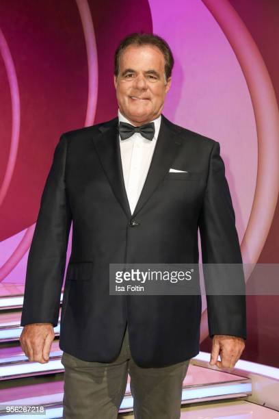 German singer Hein Simons during the tv show 'Stefanie Hertel Die grosse Show zum Muttertag' on May 8 2018 in Altenberg Germany