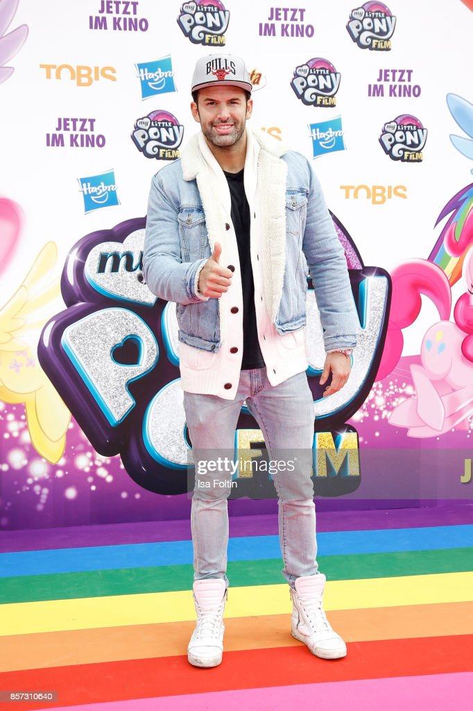 German singer Jay Khan attends the 'My little Pony' Premiere at Zoo Palast on October 3, 2017 in Berlin, Germany.