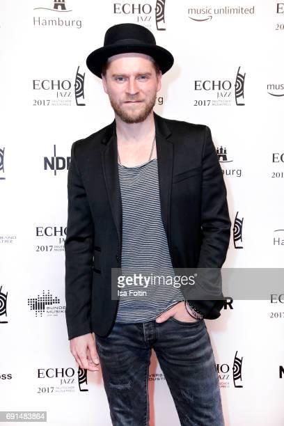 German singer Johannes Oerding during the Echo Jazz 2017 onJune 1 2017 in Hamburg Germany
