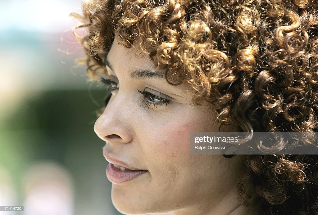 German singer Joy Delanane, ambassadress for the United nations 'UN-Milenium-Campaign', looks on after the opening ceremony of the German United Nations headquarters on July 11, 2006 in Bonn, Germany. U.N. General-secretary Kofi Annan and German Chancellor Angela Merkel inaugurated the United Nations campus, the German U.N. headquarters, in the former West German capital of Bonn.