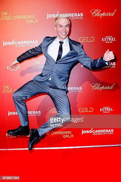 German singer Julian David attends the 22th Annual Jose Carreras Gala on December 14 2016 in Berlin Germany