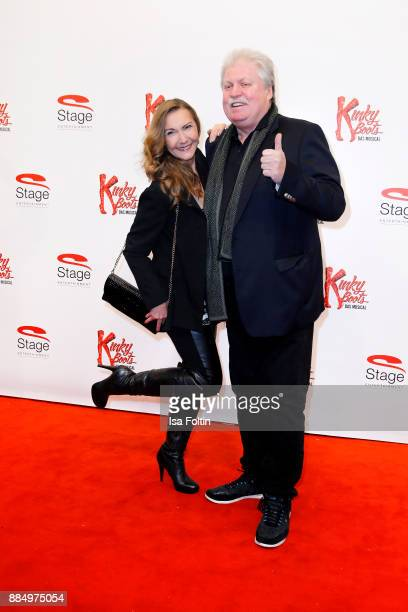 German singer Klaus Baumgart and his wife Ilona Baumgart attend the 'Kinky Boots' Musical Premiere at Stage Operettenhaus on December 3 2017 in...