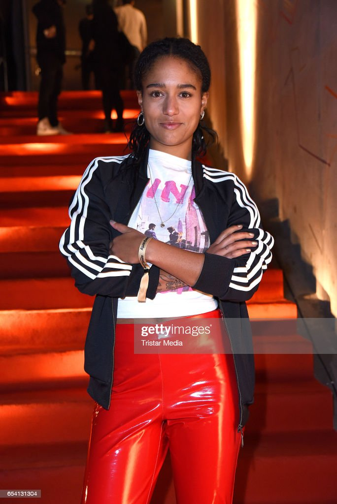 German singer Lary attends the After Party of the premiere of the Amazon series 'You are wanted' at CineStar on March 15, 2017 in Berlin, Germany.