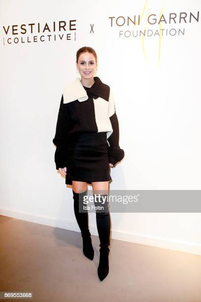 German singer Lena MeyerLandrut at the Vestiaire Collective and Toni Garrn Charity Sale Opening on November 2 2017 in Berlin Germany
