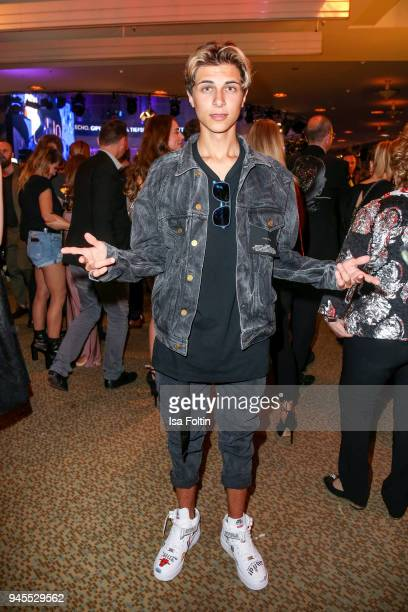 German singer Lukas Rieger during the Echo Award after show party at Palais am Funkturm on April 12 2018 in Berlin Germany