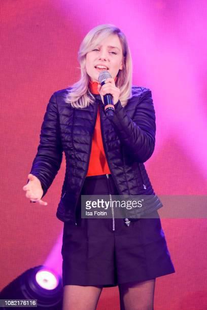 German singer Marie Wegener during the Smago Award 2018 on January 13 2019 in Berlin Germany