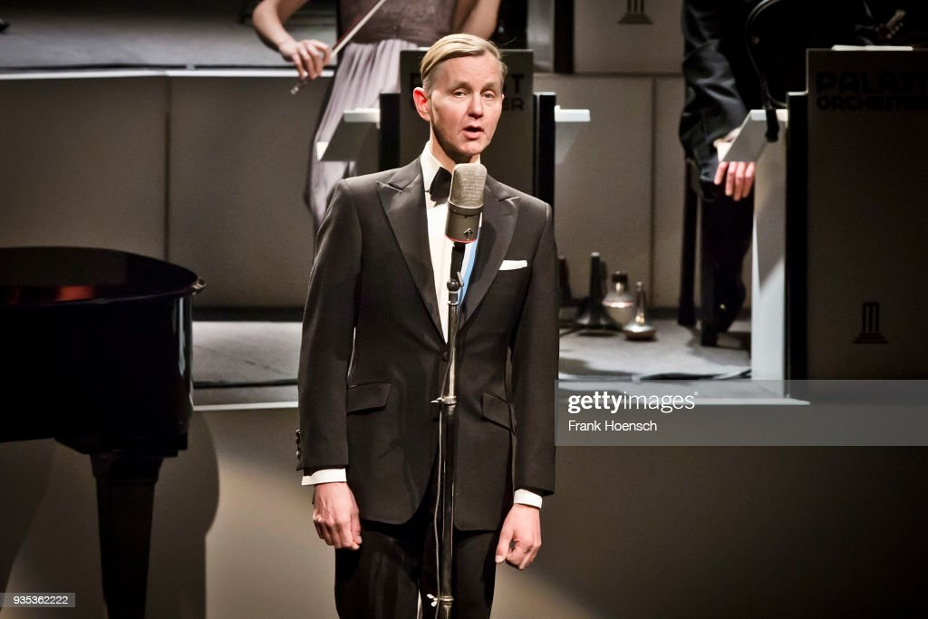 Max Raabe Performs In Berlin