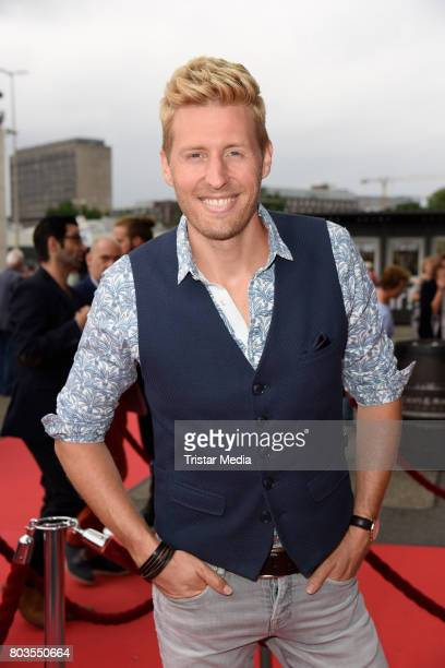 German singer Maximilian Arland attends the 'Billy Elliott The Musical' Hamburg Premiere at Mehr Theater on June 29 2017 in Hamburg Germany