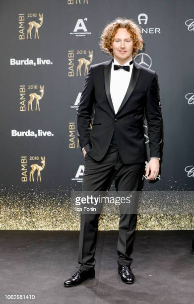 German singer Michael Schulte attends the 70th Bambi Awards at Stage Theater on November 16 2018 in Berlin Germany