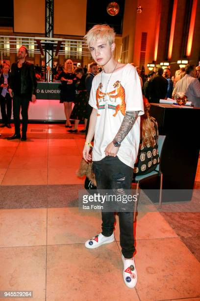 German singer Mike Singer during the Echo Award after show party at Palais am Funkturm on April 12 2018 in Berlin Germany