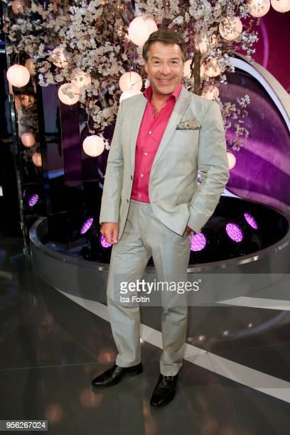 German singer Patrick Lindner during the tv show 'Stefanie Hertel Die grosse Show zum Muttertag' on May 8 2018 in Altenberg Germany