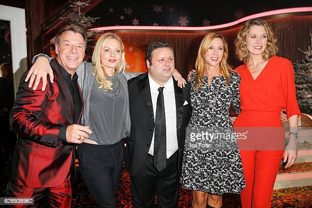 German singer Patrick Lindner german actress Susanna Simon british tenor Paul Potts german actress Carin C Tietzte and german moderator Franziska...