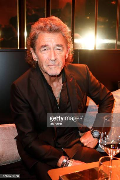 German singer Peter Maffay attends the aftershow party during during the 24th Opera Gala at Deutsche Oper Berlin on November 4 2017 in Berlin Germany