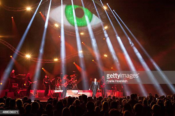 German singer Roland Kaiser performs live during a concert at the O2 World on May 3 2014 in Berlin Germany