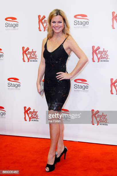 German singer Saskia Leppin attends the 'Kinky Boots' Musical Premiere at Stage Operettenhaus on December 3 2017 in Hamburg Germany