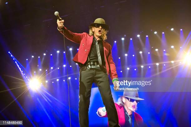 German singer Udo Lindenberg performs live on stage during a concert at the MercedesBenz Arena on June 7 2019 in Berlin Germany