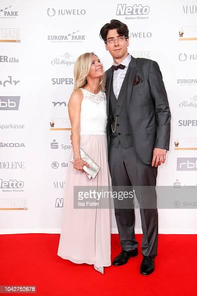 German singer Uta Bresan and her husband Karsten Freund