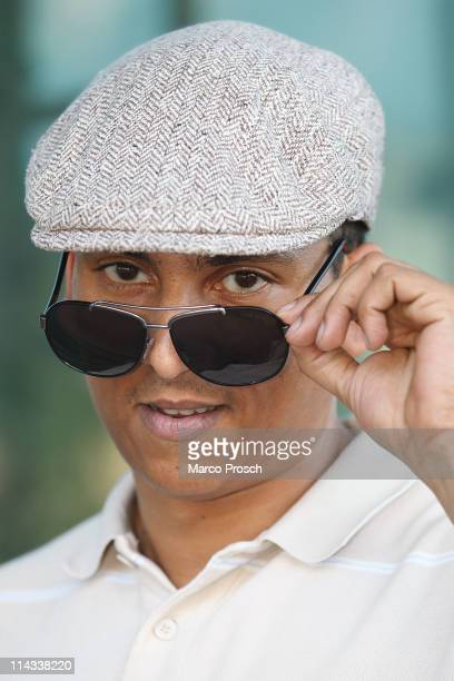 ACCESS*** German singer Xavier Naidoo poses on May 18 2011 in Halle Germany