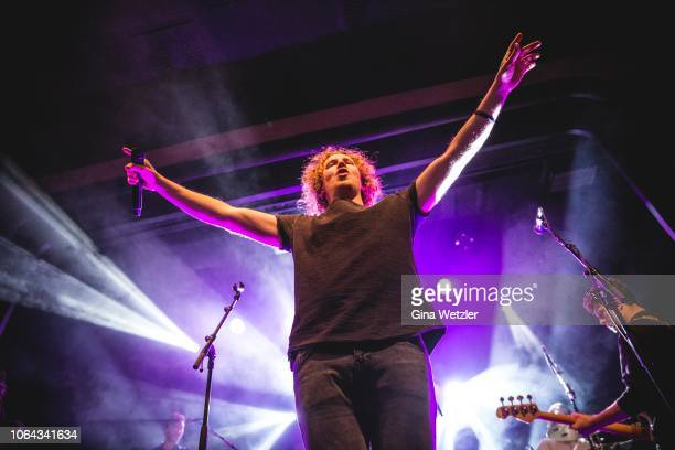 German SingerSongwriter Michael Schulte performs live on stage during a concert at Columbia Theater on November 22 2018 in Berlin Germany