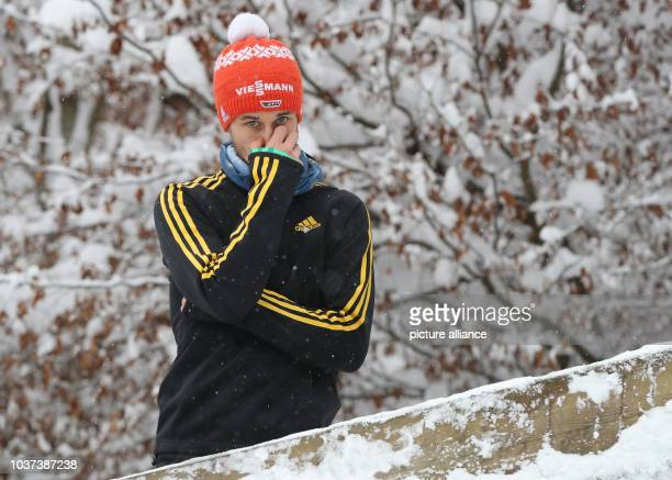 German ski jumper Markus Eisenbichler renounced the qulification for the finals at the Four Hills Tournament in Nordic skiing/ski jumping in...