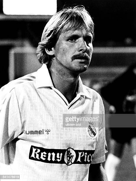 German soccer player Bernd Schuster Club Real Madrid 1989