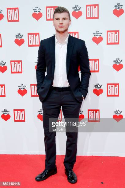 German soccer player Timo Werner attends the 'Ein Herz fuer Kinder Gala' at Studio Berlin Adlershof on December 9 2017 in Berlin Germany