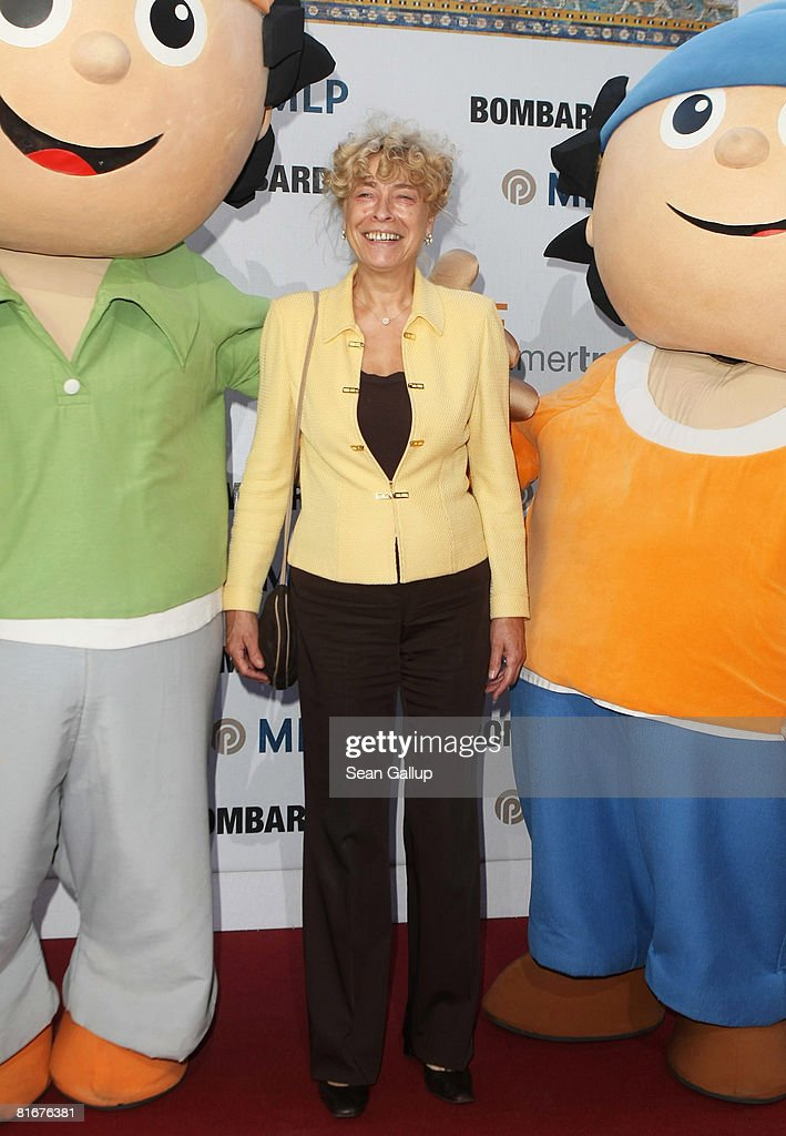 German Social Democrats (SPD) presidential candidate Gesine Schwan attends the ZDF Summer Party on June 23, 2008 in Berlin, Germany.