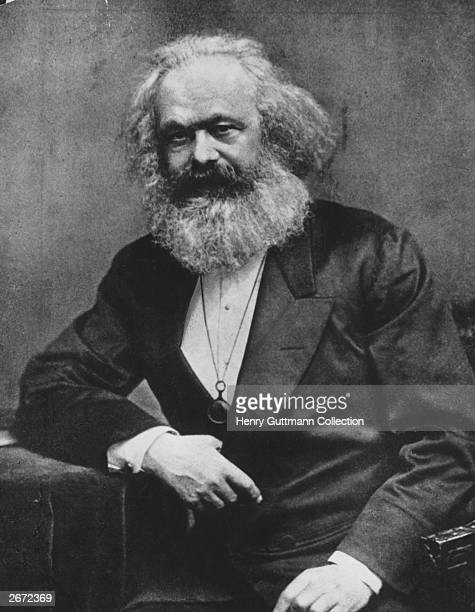 German social political and economic theorist Karl Marx
